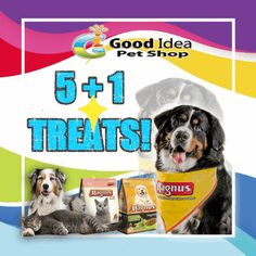 Get our promotion now!  Happy Eid Al Adha! Good idea gives you promotion of Buy 5 Magnus Pet food ( Dog / Cat or Mix) and you will get 1 FREE! This promotion valid from Aug 31 until Sept.3 2017! Get yours now ♥ Call us for more information Call : 042677789/107 Whatsapp : 0508788400