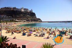 Amadores Beach in Puerto Rico Gran Canaria