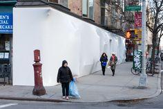 Galería de Intervención de la fachada de Storefront for Art and Architecture…