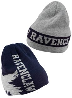 b1c0f0d3f5a Harry Potter Ravenclaw Reversible Knit Beanie Knit Beanie