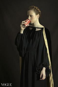 """How would have been"" series by Romina Ressia. Classic portrait series with a modern twist."