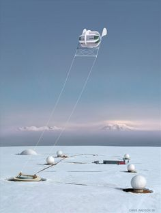 For farms and remote locations, the Magenn Power Air Rotor System (MARS) wind turbine floats in the air while tethered to the ground, and removes any obstacles related to placement. This lighter-than-air wind turbine rotates around a horizontal axis wherever the wind is blowing and generates electrical energy. This electrical energy passes down the tether to a transformer and then transferred to the electricity power grid. The MARS Air Rotor is sustained by helium, which transports it to an…
