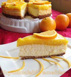 Portakallı Cheesecake (çizkek)