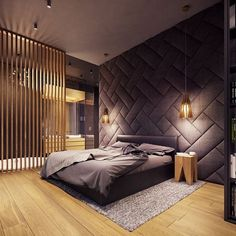 A Creative, Rustic Home with Retro Geometric Features A rustic home does not have to mean a secluded cabin in the woods. The home featured in this post, from visualizer Plasterlina includes rustic elements like lot zuhause