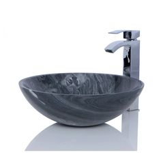 Ancient Wood Marble Sink