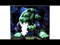 Marvel Avengers Puzzle Games Rompecabezas De Hulk  quebra cabeça