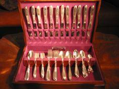 Ambassador Silverplate Dinner Set