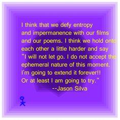 Jason Silva #Giuseppelightscandle