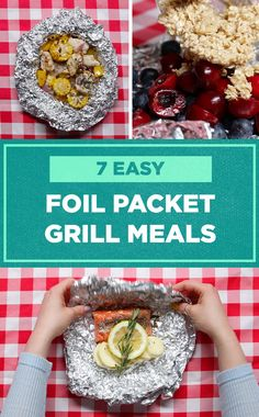 These foil packet meals are perfect for a night around the campfire!