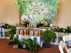 Safari Adventure Party Birthday Party Ideas | Photo 1 of 39 | Catch My Party