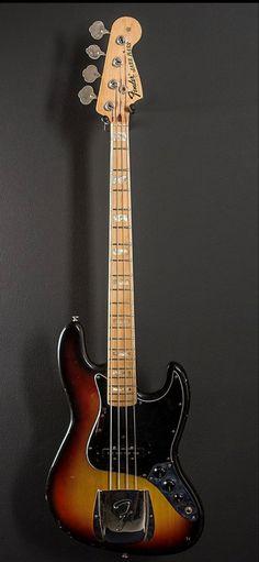 Bass Guitar Chords, Bass Guitars, Fender Jazz Bass, Vintage Bass, Double Bass, Led Zeppelin, Guitar, Bass