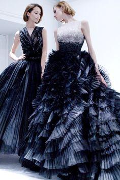 cinderellas-stilettos:  kurkova:  Dior Haute Couture Spring 2012  ۞ Cinderella's Stilettos ♛ Fashion & Luxury ۞