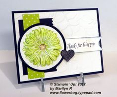 Stampin Up - Daisy Delight Daisy Delight Stampin' Up, Pumpkin Cards, Stampinup, Some Cards, Paper Cards, Flower Cards, Greeting Cards Handmade, Homemade Cards, Stampin Up Cards
