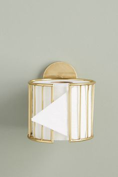 Kelly Toilet Paper Holder by Anthropologie in Brown, Hardware - Bathroom Ideas Home Decor Accessories, Bathroom Accessories, Decorative Accessories, Dream Bath, Toilet Roll Holder, Unique Toilet Paper Holder, Bathroom Toilet Paper Holders, Diy Toilet Paper Holder, Toilet Paper Dispenser