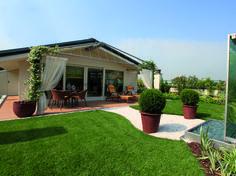 Milan. Hanging garden. An open-air green room.