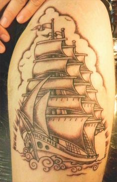 Pirate Tattoo Traditional - Lovely Pirate Tattoo Traditional, Traditional Ship Tattoo 3072—2304 Tattoos
