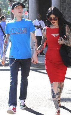Deadmau5 and Kat Von D