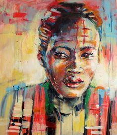 "Saatchi Online Artist Marta Zawadzka; Painting, ""Apart"" #art"