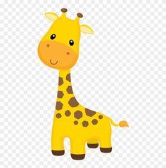 Giraffe Cartoon Drawing, Cartoon Jungle Animals, Baby Zoo Animals, Baby Giraffes, Wild Animals, Giraffe Illustration, Giraffe Painting, Baby Shower Giraffe, Animal Photography