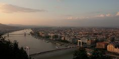 Budapest from Gellért Hill, Hungary by pas le matin, via Flickr