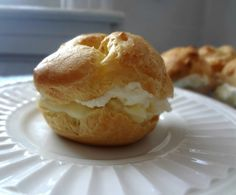 The Cooking Actress: Cream Puffs (from scratch)