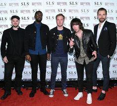 Plain White T's walk the red carpet at SLS Las Vegas