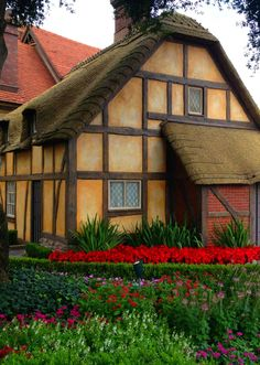 The Twinings Tea building in The World Showcase at Epcot at Disney World