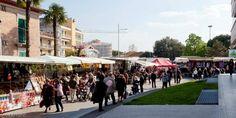 Nuova disposizione dei banchi del mercato, nuova disposizione da oggi a Bastia Umbra