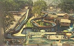 Mill Race was located on the Main Midway.  Removed after the 1993 season to make room for Raptor.
