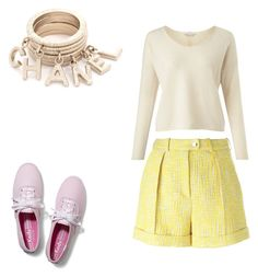 """""""Untitled #377"""" by julie-201 on Polyvore featuring Carven, Miss Selfridge, Keds, women's clothing, women, female, woman, misses and juniors"""