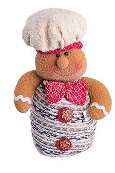 "Christmas Shelf-Top Sitting Gingerbread Boy with Hat and Bowtie - 8"" GCA http://smile.amazon.com/dp/B014V1VLX8/ref=cm_sw_r_pi_dp_lSnexb0ZM1D7X"