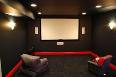 In-Home Movie Theaters contemporary