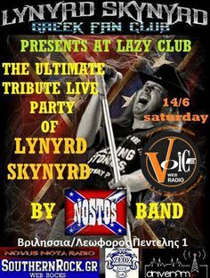 """Nostos"" play Lynyrd Skynyrd @ LAZY Club June 14th"