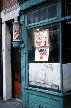 Saul Leiter - Barbershop, 1957