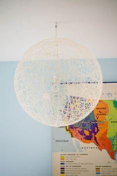 Tangerinette: DIY = Une lampe design