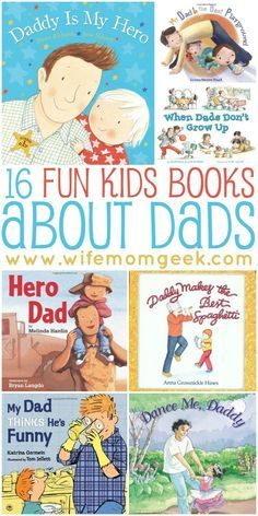 Dads are their kids first heroes. These books are a terrific way for dads and children to spend some time together--great for Father's Day!