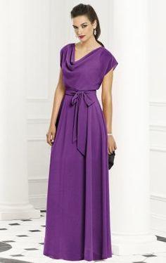 fe5db04433b12 unique purple long chiffon prom dress on kissyprom.co.uk Navy Bridesmaid  Gowns,