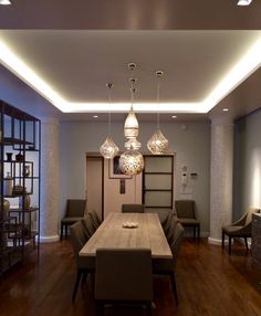 Clustered Zenza Pendant Lighting Over Dining Table  Interiors Gorgeous Pendant Lighting For Dining Room Decorating Inspiration