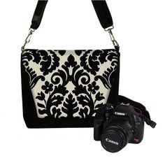 Digital Slr Camera Bag DSLR Camera Bag Purse by janinekingdesigns, via Etsy.