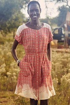 Veronia Shirtdress #anthropologie