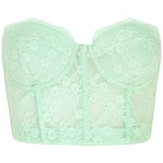 FOREVER 21 Strapless Lace Corset Bra