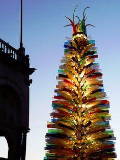Albero di Natale in piazza San Marco a Venezia