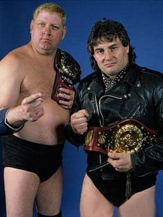 Adrian Adonis and Dick Murdoch's WWE World Tag Team Championship reign:  April 17, 1984 - January 21, 1985