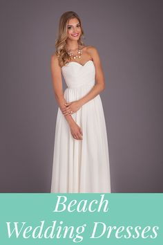 10 shopping tips for beach wedding dresses! Blue Dress Accessories 1705ff8528cc