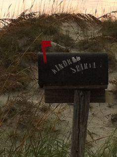 "The ""mailbox"" at Sunset Beach NC"