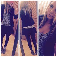 #mystyle #my closet #outfit #bellpants #fashion #boho #bohofashion #zin #skirt #animalprint #black #nightoutfashion