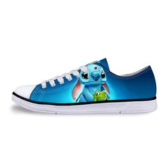 Cartoon Shoes, Casual Shoes, Men Casual, Lilo And Stitch, Custom Shoes, Top Shoes, Sports Shoes, Converse, Canvas