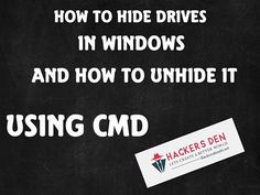 "★How To Hide Drives in Windows?★ Hiding a partition or volume from my computer or explorer is preventing that partition from displaying, but it doesn't mean erasing any data or deleting the volume. Simple Command Prompt tricks and hacks may come in handy at any time. In this article, you will learn to  ""Hide any drive in …"