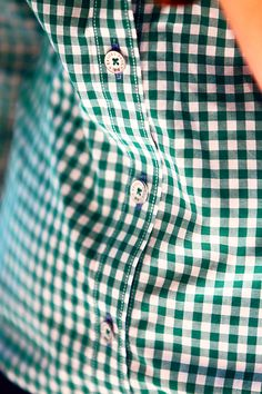 brooks brothers green gingham