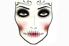 Scary-Sexy Halloween Makeup How-To   Lovelyish